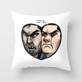 Sterek Throw Pillow