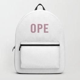 Ope Backpack