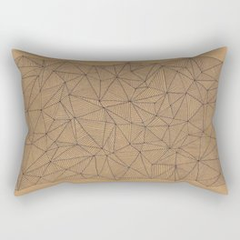 Geometry is like, hard. Rectangular Pillow