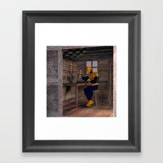 The Carpenter Framed Art Print