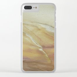 Sun Soaked Clear iPhone Case