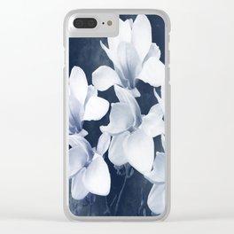 Magnolia 3 Clear iPhone Case