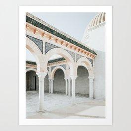 Mausoleum Of Habib Bourguiba Photo | Travel Photography | Monastir Tunisia Architecture Art Print