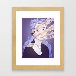 Portrait III Framed Art Print