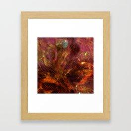 The Star Framed Art Print