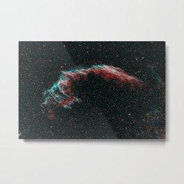 Eastern Veil Nebula - Supernova Remnant Metal Print