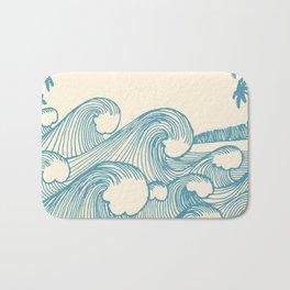 Waves Badematte