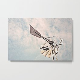 """Windmill Ruin"" by Murray Bolesta Metal Print"