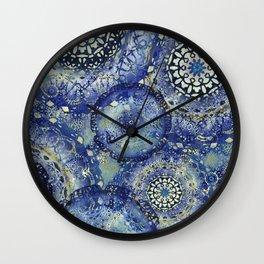 Marina Mandalas Wall Clock