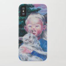 Albino cat Slim Case iPhone X