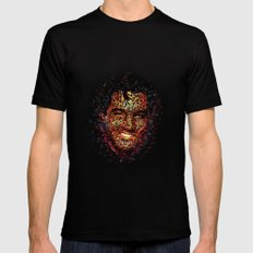 Elvis  MEDIUM Black Mens Fitted Tee