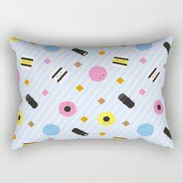 Kawaii Candy Liquorice Allsorts Rectangular Pillow