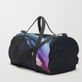 Colorful Space Shark Duffle Bag