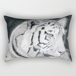 Tiger at rest Rectangular Pillow
