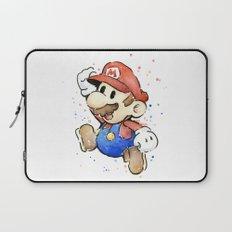 Mario Watercolor Laptop Sleeve