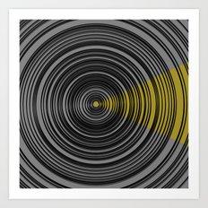 projektor Art Print