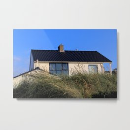 house in the dunes Metal Print