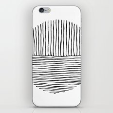 Circle : Vertical / Horizontal iPhone & iPod Skin