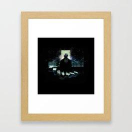 Kisuke Urahara Framed Art Print