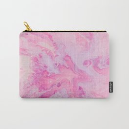 Pretty Pink Watercolor Carry-All Pouch