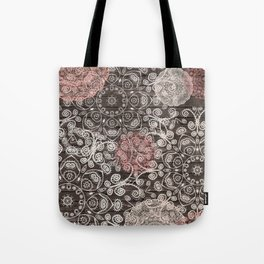 HAPPY GO LUCKY - BOHO WOOD Tote Bag