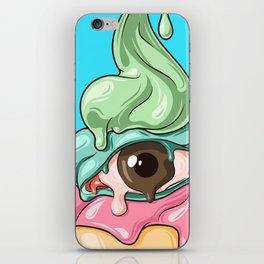 eye ice cream iPhone Skin