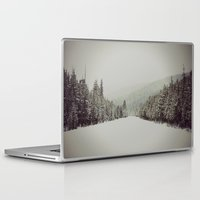 montana Laptop & iPad Skins featuring Montana Pines by Warren Silveira + Stay Rustic