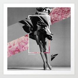 Vintage Collage Art Print
