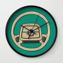 Dodge Shadow Steering Wheel Wall Clock