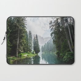 Forest Reflection in Italy Laptop Sleeve
