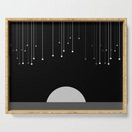 Falling Stars Serving Tray