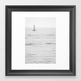 long exposure Framed Art Print