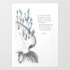 You Showed Me  Art Print