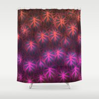 rare Shower Curtains featuring Rare Jungle, Dusk by Lindel Caine