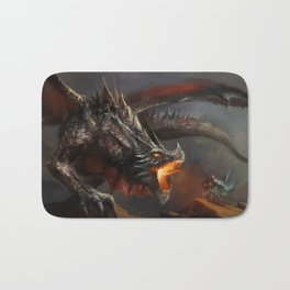 Dragon and Knight Bath Mat