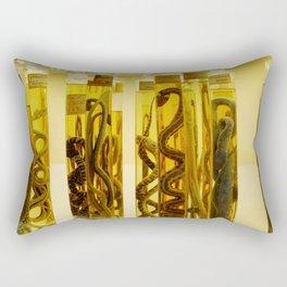 Snakes in formalin Rectangular Pillow