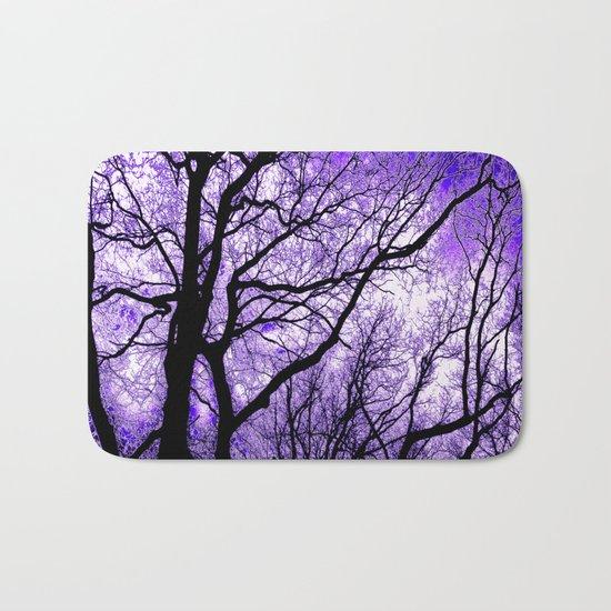 The Trees Know (purple) Bath Mat