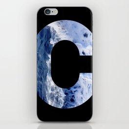 Monogram C iPhone Skin