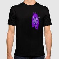 TMNT Rock: Don Black MEDIUM Mens Fitted Tee