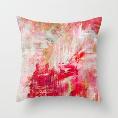 a day in autumn Throw Pillow