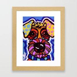 Rover Designer Dog Terrier Breed Puppy Framed Art Print