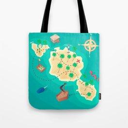 Tahiti Treasure Tote Bag