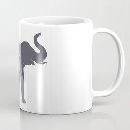 Floral Elephant Animal Print Coffee Mug