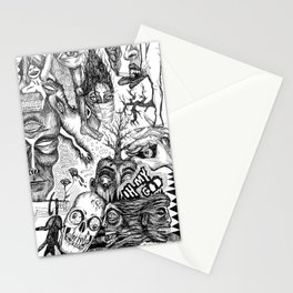 Ink Dream Sketch Stationery Cards