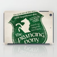 gondor iPad Cases featuring The Prancing Pony Sigil by Nxolab