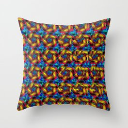 Stereogram - The Hidden Eye Throw Pillow