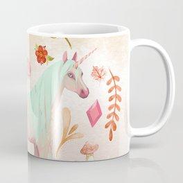 Unicorn Watercolor Painting Coffee Mug