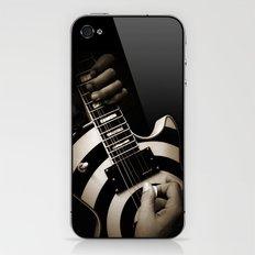 The Guitar Player iPhone & iPod Skin