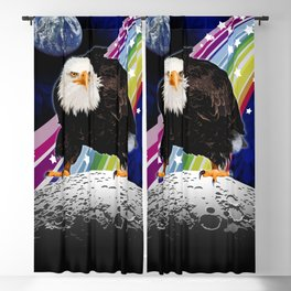 The Eagle Has Landed Blackout Curtain