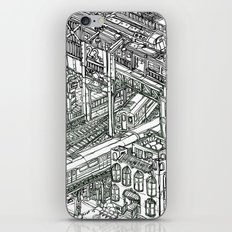 The Town of Train 1 iPhone & iPod Skin